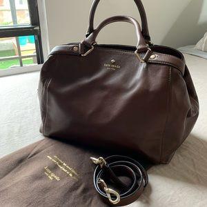 Kate Spade Brown Leather Bag